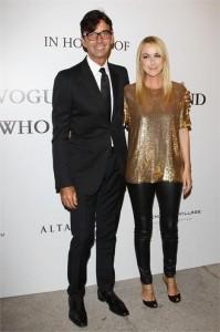 Frida Giannini, da Gucci, e o CEO da maison, Patrizio di Marco, confessaram q estao namorando… #fofos