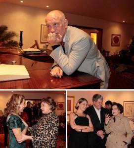 Glamurama teve um encontrinho com John Malkovich nessa terça-feira no Rio! Finos, né?