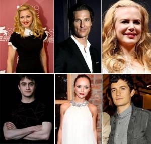 Descubram as fobias de estrelas da música e do cinema, como Madonna, Nicole Kidman e Daniel Radcliffe