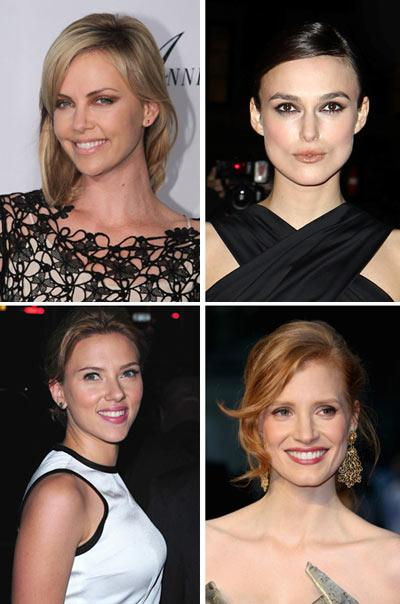 Charlize Theron, Keira Knightley, Scarlett Johansson e Jessica Chastain: quem é a melhor princesa?