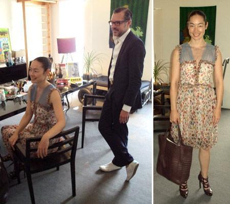 Cecilia Dean e Antonio Haslauer: de passagem pela Casa Glamurama!