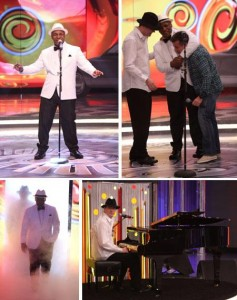 Mike Tyson está no Caldeirão do @lucianohuck cantando Garota de Ipanema!! #performances