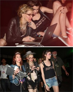 Sabe qual modelo brasileira acompanhou Courtney Love durante a passagem dela por SP???