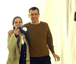 Mari Stockler e CarlitoCarvalhosa: comemorando os 50 anos de Carlinhos!