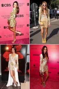 Várias famosas com o mesmo vestido, acredita?