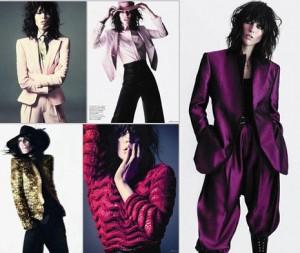 E acaba de sair mais um editorial com a modelo Raquel Zimmermann. Desta vez, para a Vogue Paris!